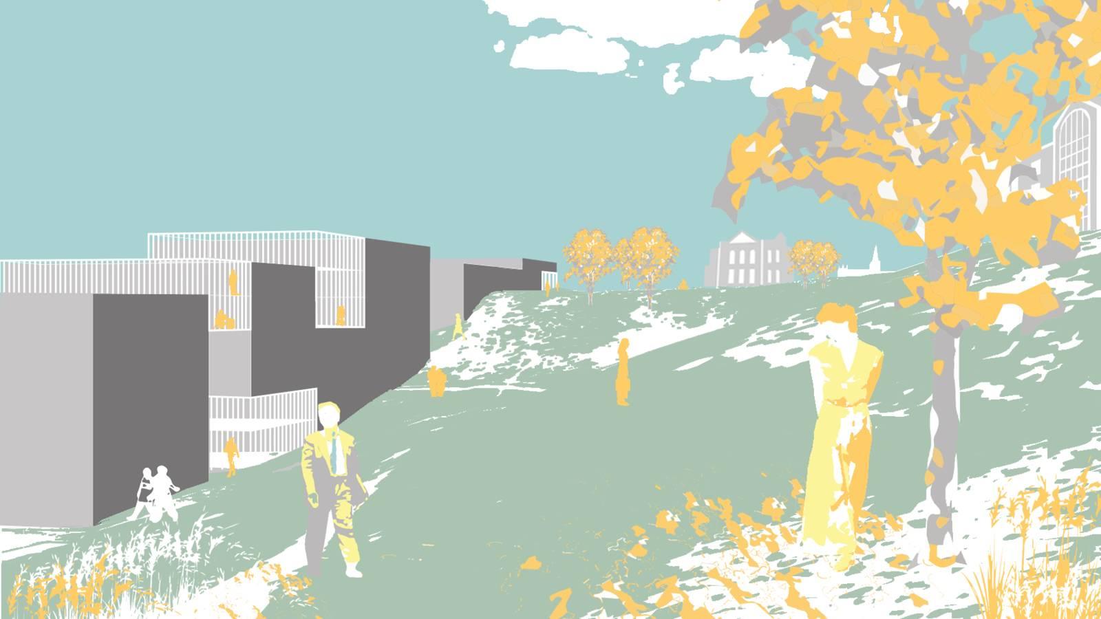CAMPUS PARK VIEW - NTNU – More Park, More City! - SPOL Architects