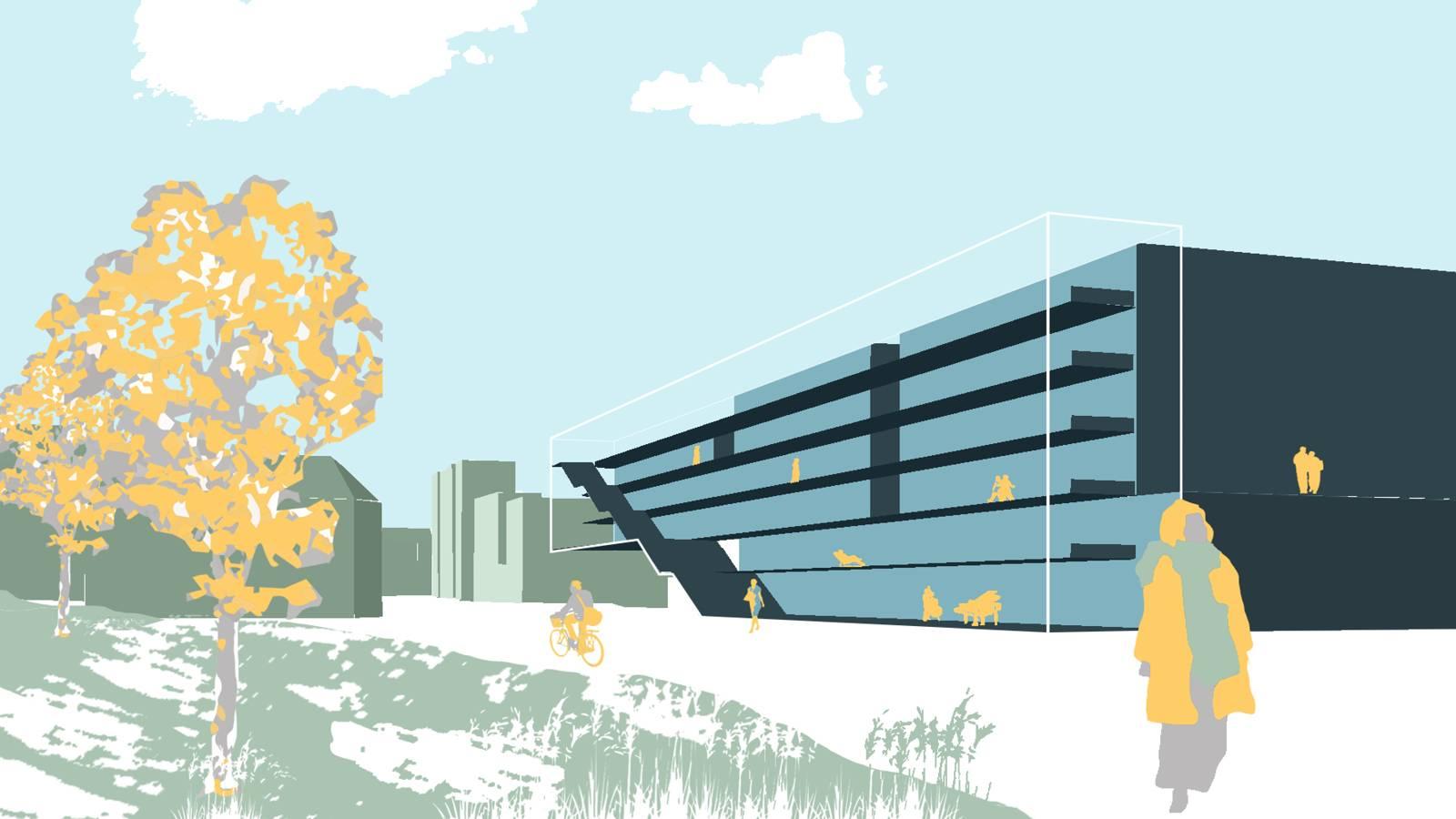 ART, ARCHITECTURE & MUSIC SCHOOL - NTNU – More Park, More City! - SPOL Architects