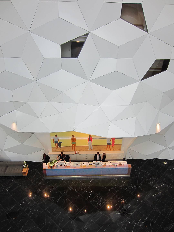 HOTEL RECEPTION - Clarion Hotel & Congress - SPOL Architects