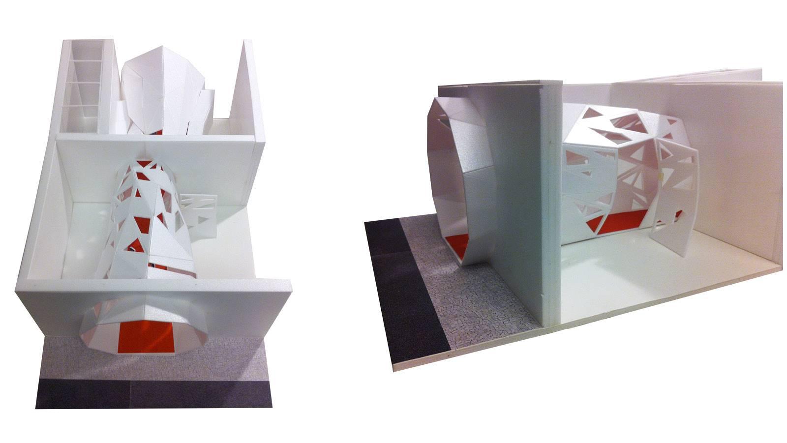 CORRIDOR MODEL STUDY  - Zeppelin Films - SPOL Architects