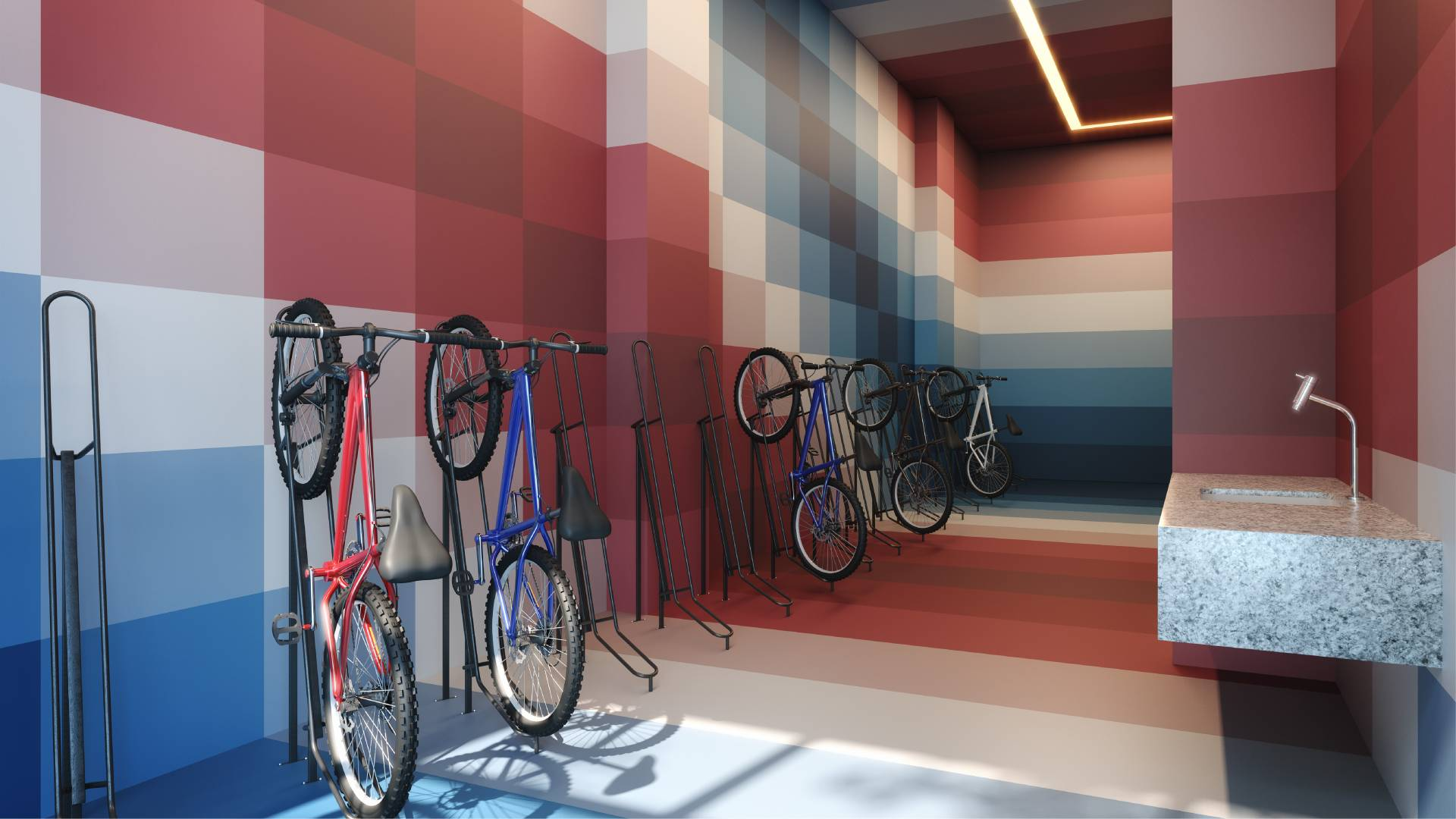 BICYCLE WORKSHOP - Ventura Pinheiros - SPOL Architects