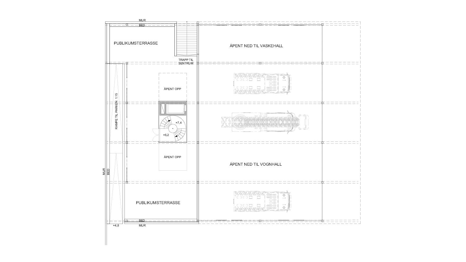 1ST FLOOR PLAN - Oslo Fire Station - SPOL Architects